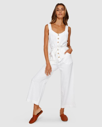 1 Crossfire Jumpsuit White JN20TBCR Billabong