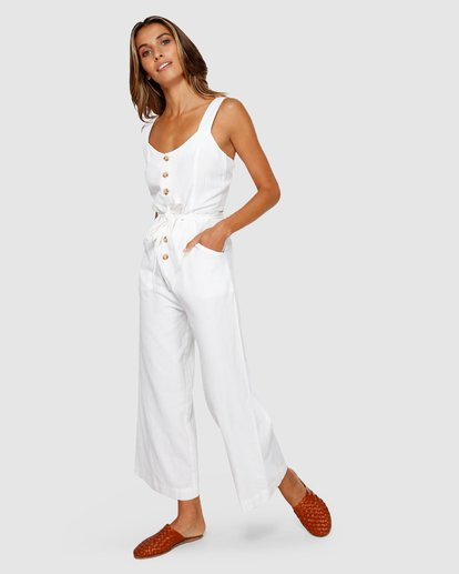 2 Crossfire Jumpsuit White JN20TBCR Billabong