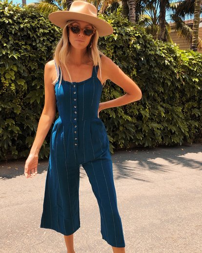0 Paint The Town Jumpsuit Blue JN20VBPA Billabong