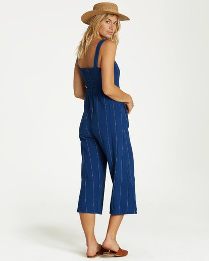 4 Paint The Town Jumpsuit Blue JN20VBPA Billabong