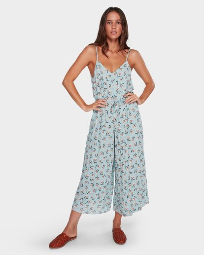 2 Bluebell Jumpsuit Blue JN32WBBL Billabong