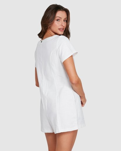 2 Breeze Easy Playsuit White JN40WBBR Billabong