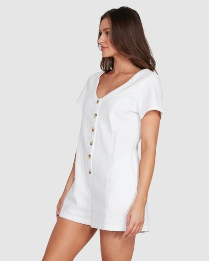 1 Breeze Easy Playsuit White JN40WBBR Billabong