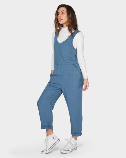2 Desert Tencel Jumpsuit Blue JN42UBDE Billabong