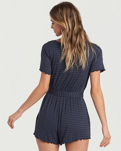 1 Moving Forward Romper Blue JN433BMO Billabong