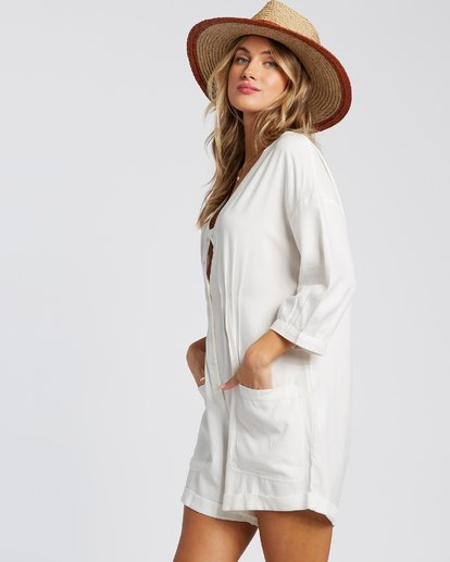 1 Sunday Vibes Onesie White JN521BSS Billabong
