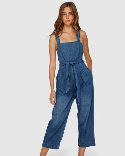 4 Sarai Jumpsuit Blue JN60VBSA Billabong