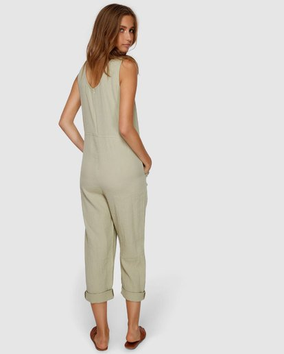 3 Desert Jumpsuit Green JN61VBCU Billabong