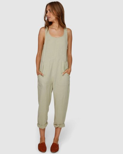 0 Desert Jumpsuit Green JN61VBCU Billabong
