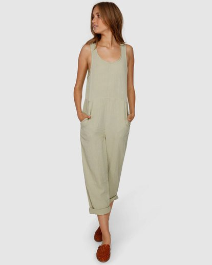 4 Desert Jumpsuit Green JN61VBCU Billabong