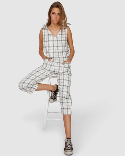 1 Willow Jumpsuit White JN64VBWI Billabong