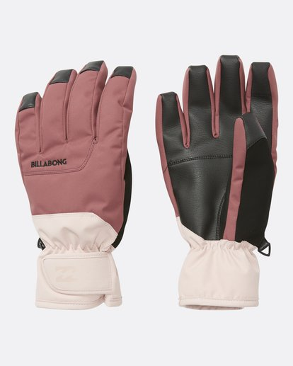 1 Women's Kera Snow Gloves Purple JSGLQKER Billabong
