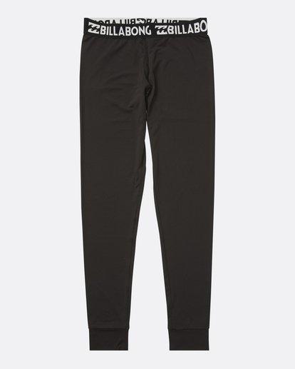 3 Women's Warm Up Tech Under Layer Pants Black JSN3QWUB Billabong