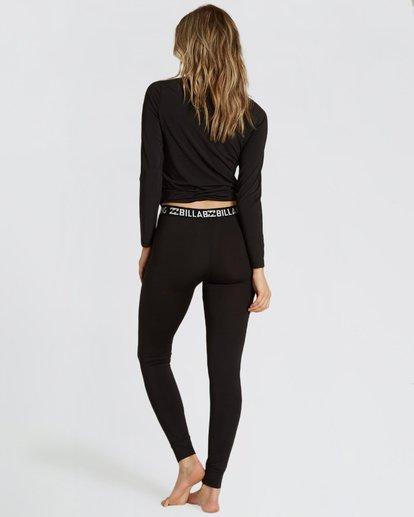 2 Women's Warm Up Tech Under Layer Pants Black JSN3QWUB Billabong