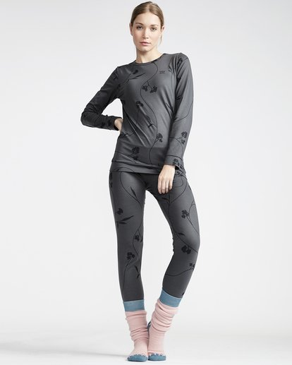 0 Women's Warm Up Base Layer Legging Black JSN3VBWL Billabong