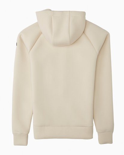 1 A/DIV Women's Freezing Fog Full-Zip Hoodie White JSN63BFR Billabong