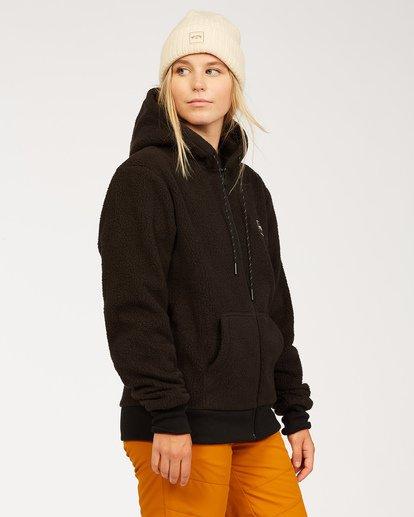 1 Women's Saturday Fleece Hoodie Black JSN63BSA Billabong