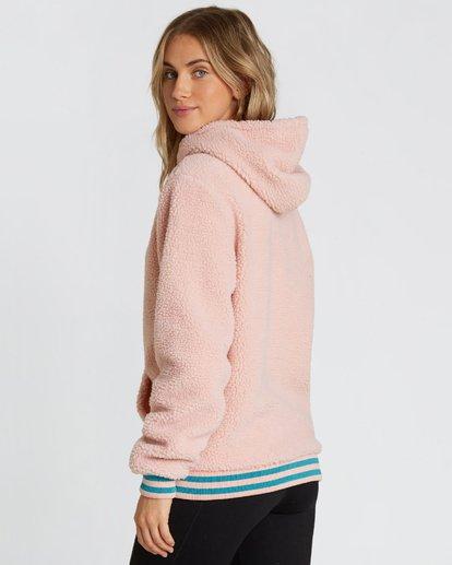 2 Women's Blossom Sherpa Hoodie Pink JSN6QBLO Billabong