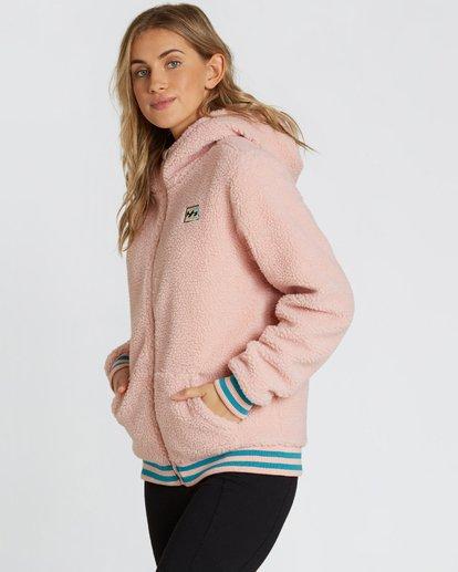 1 Women's Blossom Sherpa Hoodie Pink JSN6QBLO Billabong