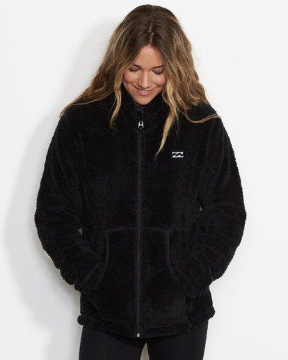 0 Women's First Chair Zip Up Sherpa Fleece  JSN6QFIR Billabong