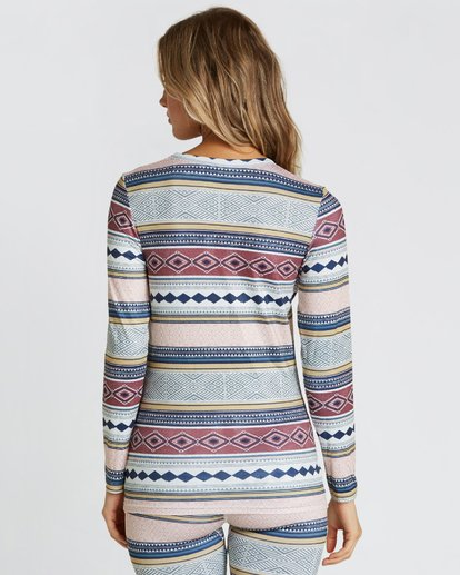 2 Women's Warm Up Tech Tee Long Sleeve Under Layer Shirt  JSN9QWUT Billabong
