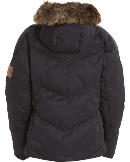 8 Women's Daytime Puffer Snow Jacket Black JSNJ3BDA Billabong