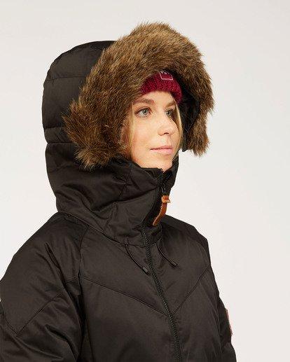 5 Women's Daytime Puffer Snow Jacket Black JSNJ3BDA Billabong