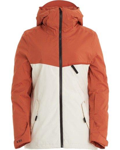 7 A/DIV Women's Eclipse Snow Jacket Red JSNJ3BEC Billabong