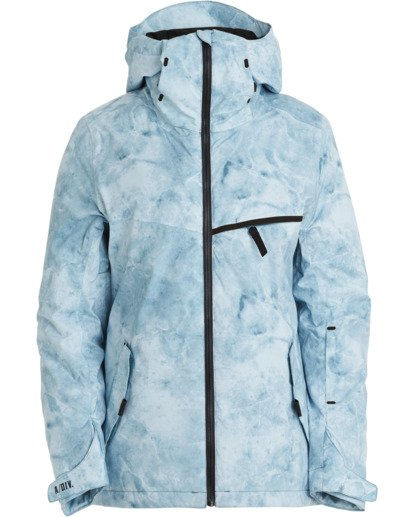 7 A/DIV Women's Eclipse Snow Jacket Multicolor JSNJ3BEC Billabong