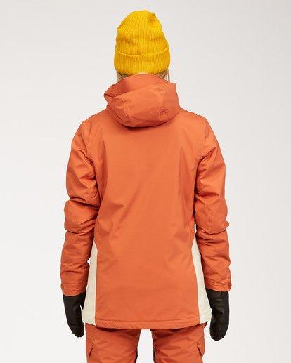 3 A/DIV Women's Eclipse Snow Jacket Red JSNJ3BEC Billabong