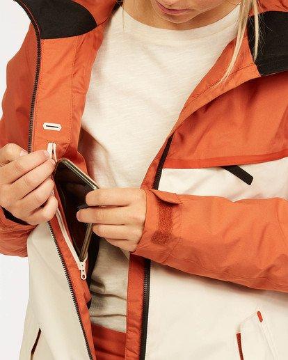 5 A/DIV Women's Eclipse Snow Jacket Red JSNJ3BEC Billabong