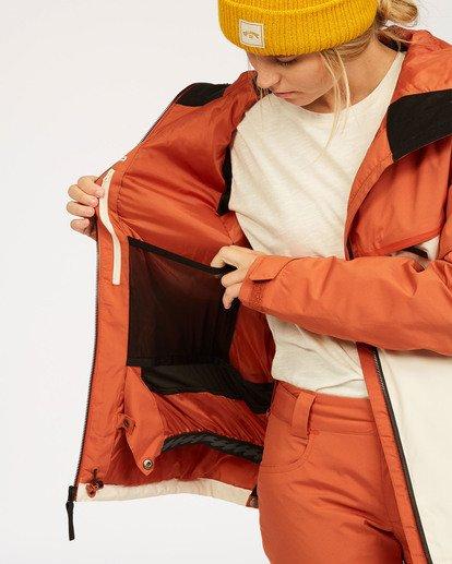 6 A/DIV Women's Eclipse Snow Jacket Red JSNJ3BEC Billabong