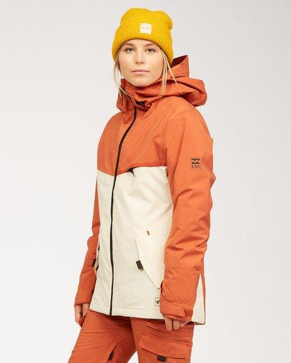 1 A/DIV Women's Eclipse Snow Jacket Red JSNJ3BEC Billabong