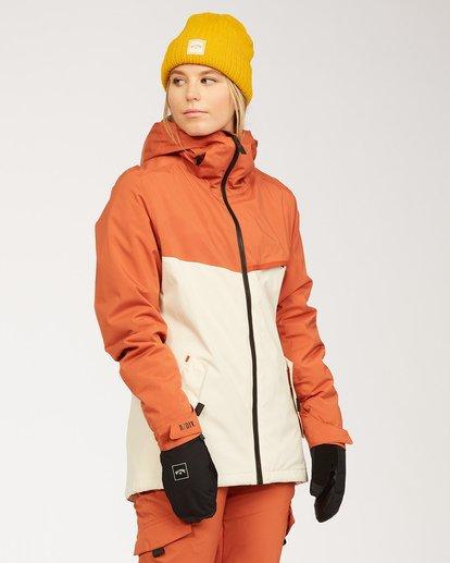 2 A/DIV Women's Eclipse Snow Jacket Red JSNJ3BEC Billabong