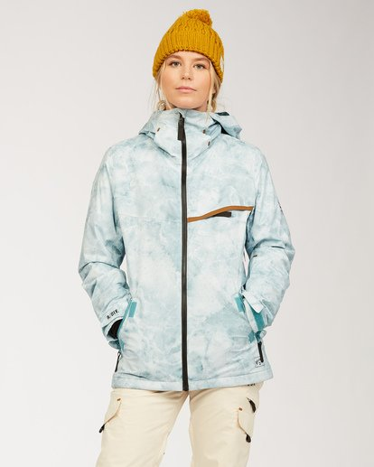 0 A/DIV Women's Eclipse Snow Jacket Multicolor JSNJ3BEC Billabong