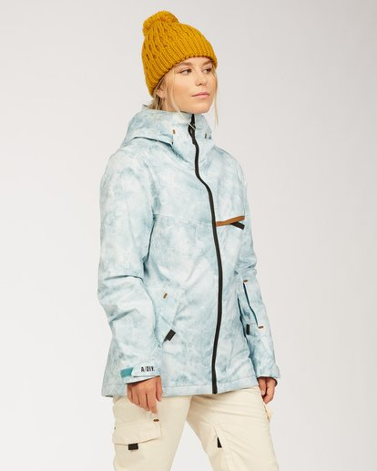 2 A/DIV Women's Eclipse Snow Jacket Multicolor JSNJ3BEC Billabong
