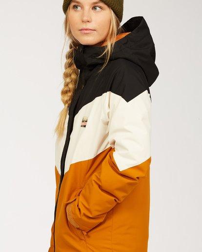 5 Women's Good Life Snow Jacket Brown JSNJ3BGL Billabong