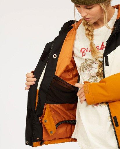 6 Women's Good Life Snow Jacket Brown JSNJ3BGL Billabong