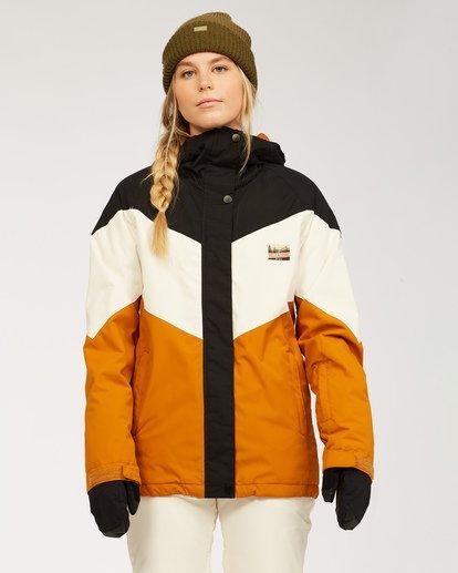 0 Women's Good Life Snow Jacket Brown JSNJ3BGL Billabong
