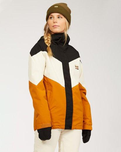 1 Women's Good Life Snow Jacket Brown JSNJ3BGL Billabong