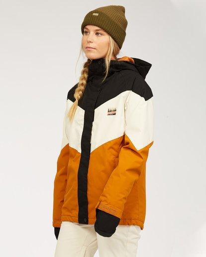 2 Women's Good Life Snow Jacket Brown JSNJ3BGL Billabong
