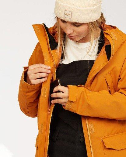 6 Women's Go Outside Snow Jacket Brown JSNJ3BGO Billabong