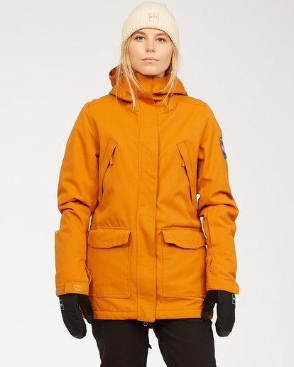 0 Women's Go Outside Snow Jacket Brown JSNJ3BGO Billabong