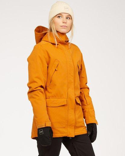 1 Women's Go Outside Snow Jacket Brown JSNJ3BGO Billabong