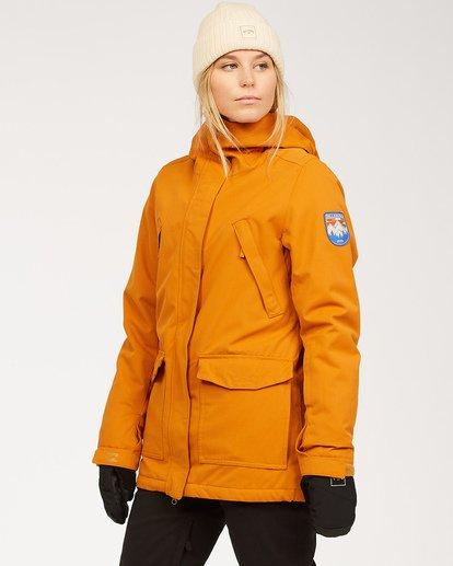 2 Women's Go Outside Snow Jacket Brown JSNJ3BGO Billabong