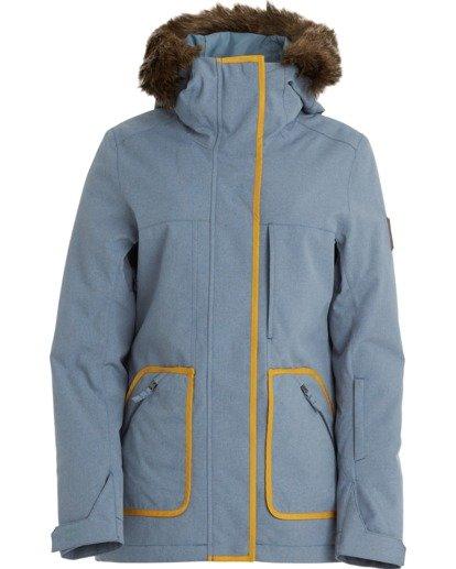 7 Women's Into The Forest Snow Jacket Multicolor JSNJ3BIN Billabong