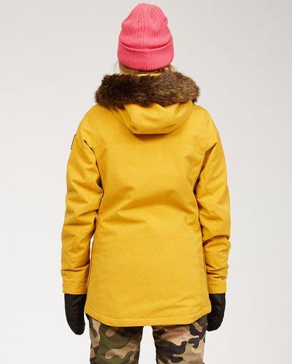 3 Women's Into The Forest Snow Jacket Brown JSNJ3BIN Billabong