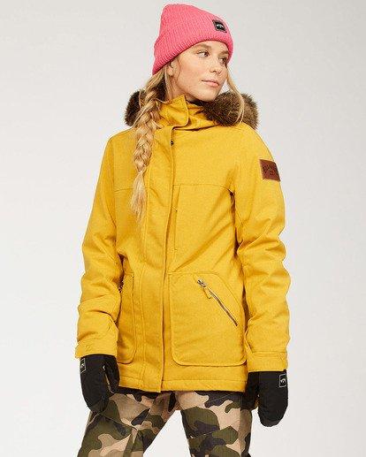 1 Women's Into The Forest Snow Jacket Brown JSNJ3BIN Billabong