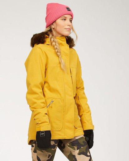 2 Women's Into The Forest Snow Jacket Brown JSNJ3BIN Billabong
