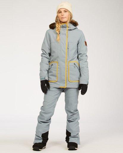 4 Women's Into The Forest Snow Jacket Multicolor JSNJ3BIN Billabong